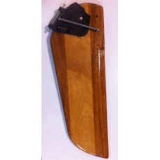Sunfish, Rigged Sunfish Rudder (Classic Wood)
